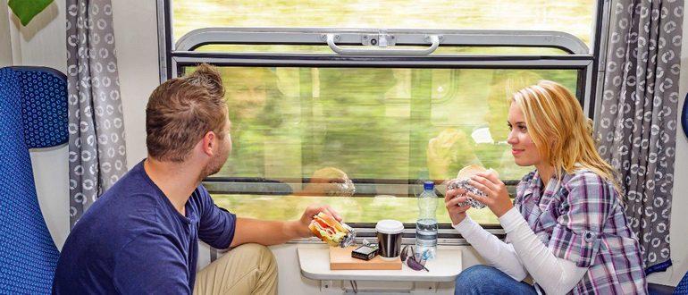 что взять с собой из еды в поезд