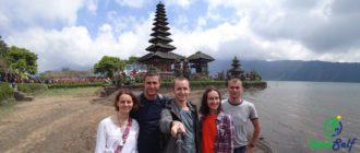 Озеро Братан (о. Бали, Индонезия)