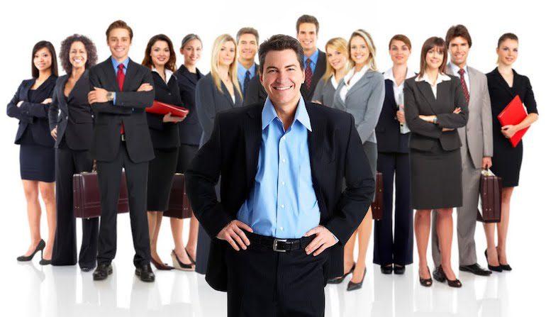 Лидер в бизнес-группе