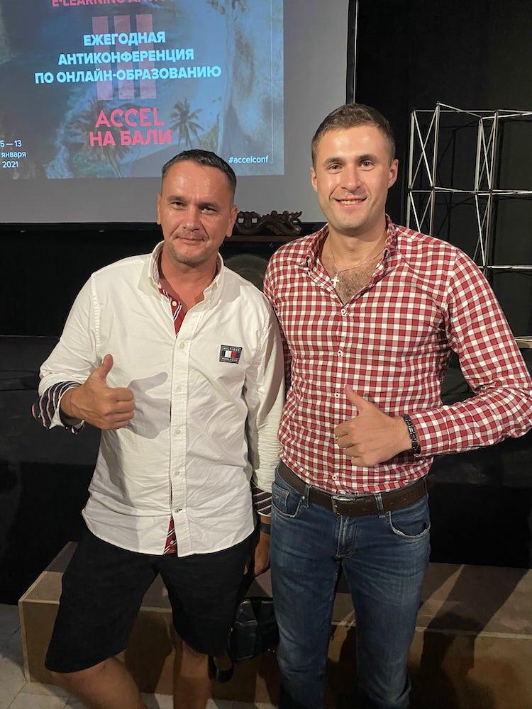 Павел Бутор и Виталий Кузнецов