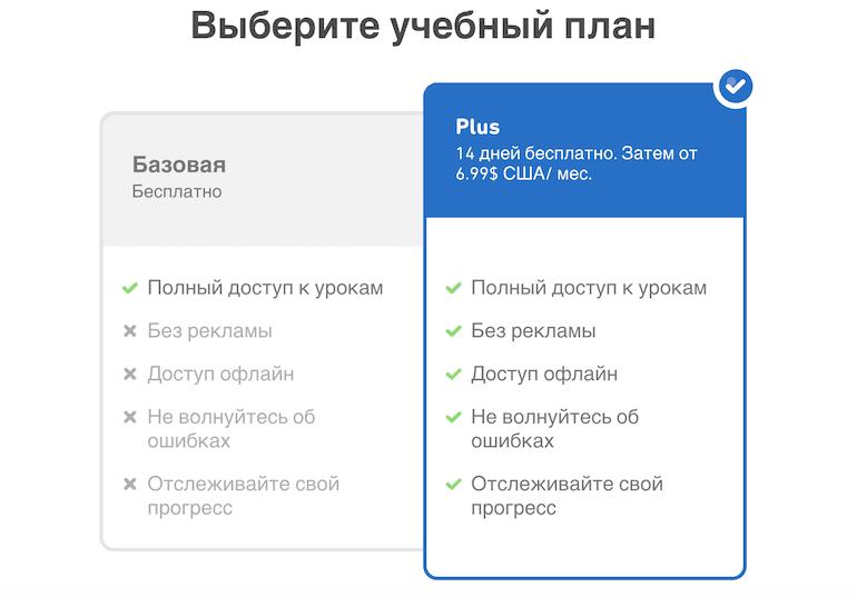 Стоимость Duolingo