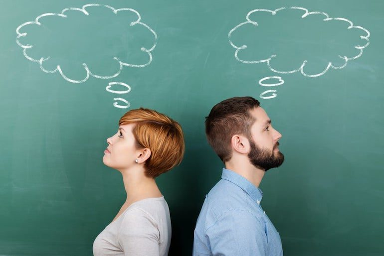 Мышление мужчины и женщины