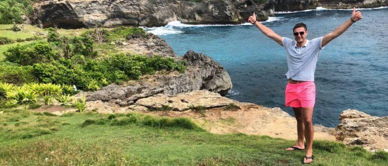 Павел Бутор на о. Бали