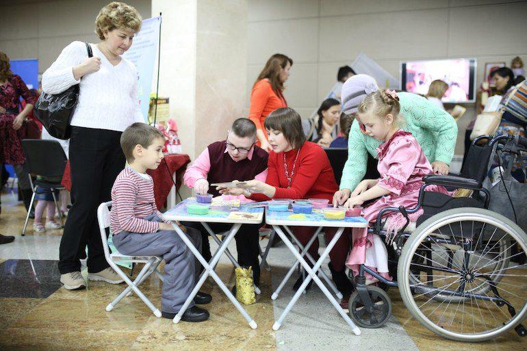 Пример благотворительности детям